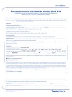 Modulo Di Adesione Al Servizio Di Firma Elettronica Avanzata Fea