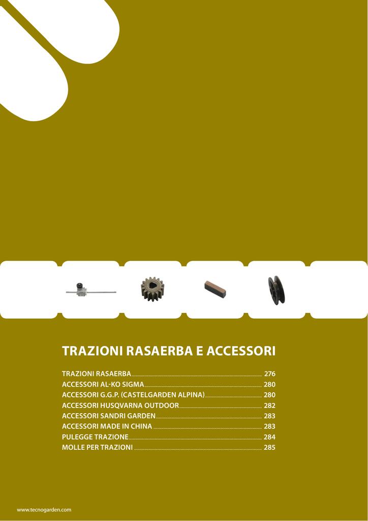Pignone ruota tagliaerba rasaerba HUSQVARNA P51-625 457334 544342301