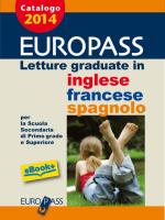 Letture graduate in inglese francese e spagnolo