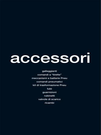 Accessori cassette wc