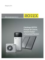 Rotex 2014 Pompe di calore e sistemi solari