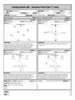 Training Guide JSS - Juventus Primi Calci 1° Anno