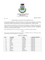 ELENCO AMMESSI - Comune di Palomonte