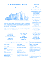 December 21, 2014 - St. Athanasius Church