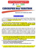 Cargraphic Half Marathon