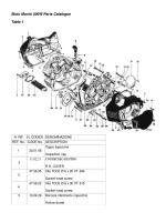 Moto Morini 500W Parts Catalogue Table 1
