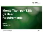 gli User Requirements - London Stock Exchange Group