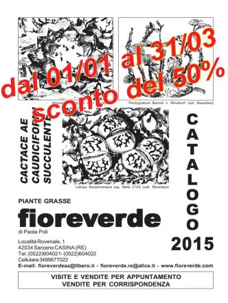 Catalogo 2015 - Vivaio Fioreverde