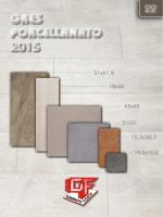 GRES PORCELLANATO 2015