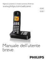 B380/385 Italian short user manual