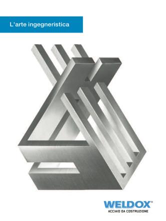 brochure-weldox - Venturi Acciai