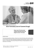 2014 Formulary (List of Covered Drugs)