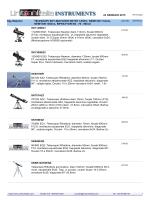 18 DICEMBRE 2014 Sky-Watcher TELESCOPI SKY
