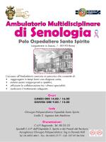 Opuscolo Ambulatorio Multidisciplinare di Senologia