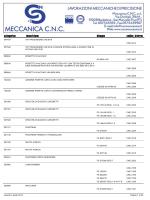Stampa Categorici Trenitalia - CNC Meccanica ::: Lavorazioni