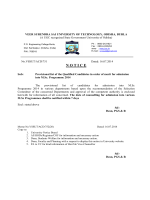 WEB NOTIFICATION 2 YEARS M.SC PROGRAMME