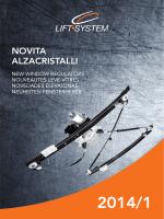 NOVITA ALZACRISTALLI
