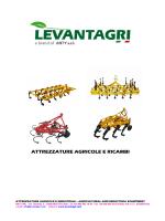 ATTREZZATURE AGRICOLE LEVANTAGRI