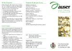 Programma attività Auser gennaio/aprile 2015