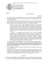 Il Rettore Decreto n. 8927 (76) Anno 2015