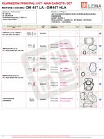 MOTORE / ENGINE: OM 457 LA - OM457 HLA - lema