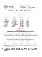 calendario sedute di laurea