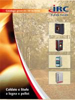 catalogo irc 2015 - Irc Riscaldamento a Legna e Pellet