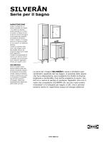SILVERAN mobili per bagno
