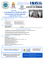 Locandina - Politecnico di Bari