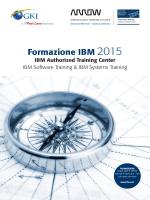 Formazione IBM 2015