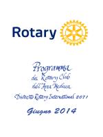Giugno 2014 - Rotary Club Firenze