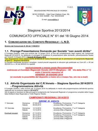 Com_N61 - FIGC Veneto
