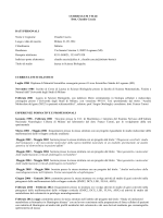 Consulenti e collaboratori - CV