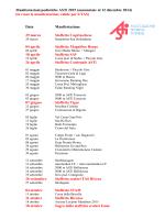Manifestazioni podistiche ASTi 2015 (annunciate al 12 dicembre