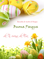 Buona Pasqua da In cucina da Eva