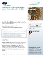 info Prodotto - Eurizoncapital