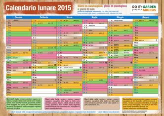 Calendario lunare 2015 - Do it + Garden Migros