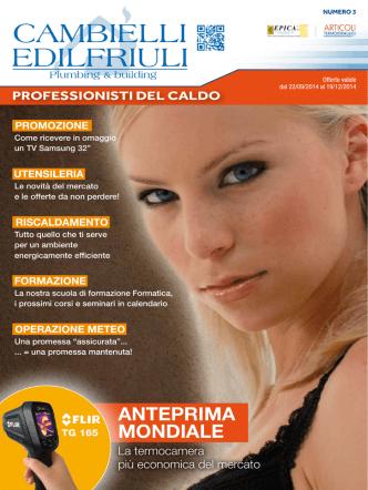 ANTEPRIMA MONDIALE - Cambielli Edilfriuli Group