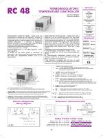 Termoregolatore - Elettromeccanica CDC