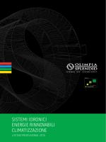 sistemi idronici energie rinnovabili climatizzazione