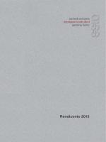 Rendiconto 2013 - Società svizzera impresari costruttori sezione