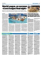 Nuoto: Esordienti A e B - i risultati di Romano