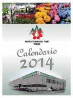 calendario 2014 - Mercato dei Fiori Torino