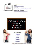 allegati per i minibook - Laboratorio Interattivo Manuale