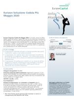 Eurizon Soluzione Cedola Più Maggio 2020