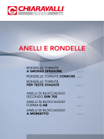 Chiaravalli - Catalogo anelli e rondelle