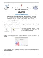 Carta Provinciale dei Servizi - Provincia Autonoma di Trento