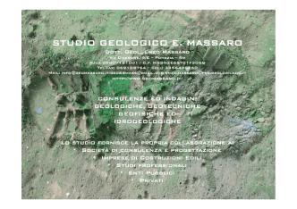 Brochure - Enzo Massaro Pomezia