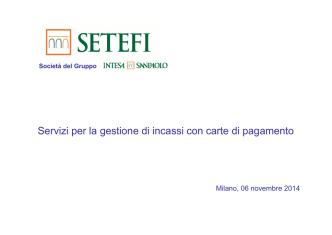 Company Profile SETEFI