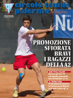 Mese di Agosto Anno 2014 - Circolo del Tennis Palermo